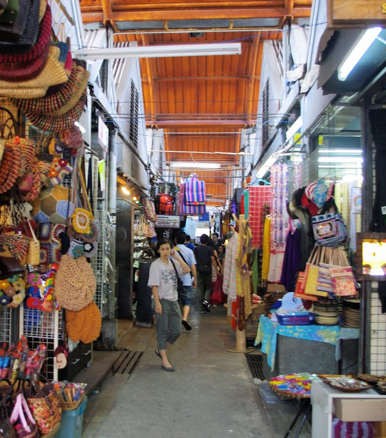 Bangkok Chatuchak Weekend Market Shops