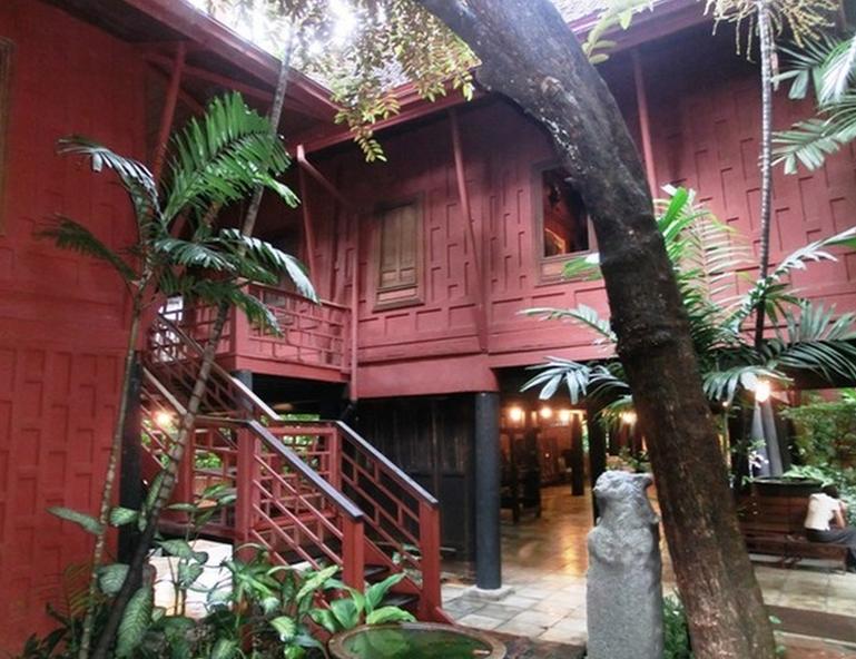 Bangkok Jim Thompson House Outside