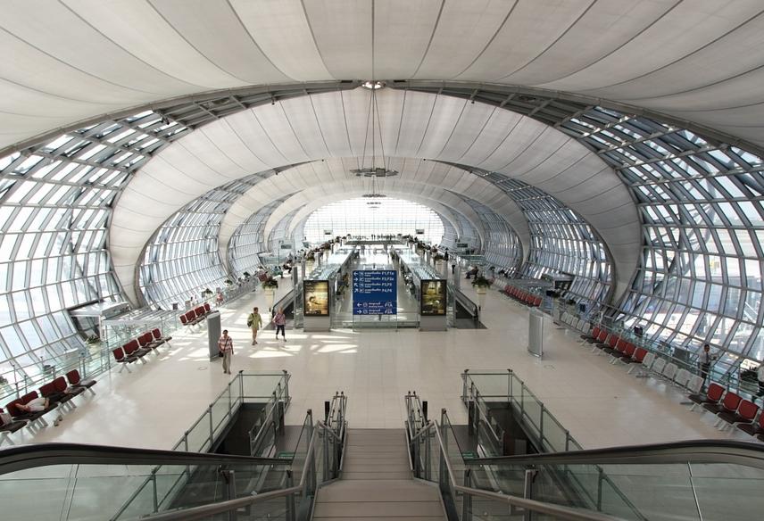 Suvarnabhumi Airport Inside