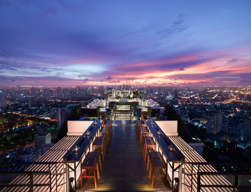 Banyan Tree Roof Top Bar