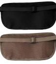 Cashew-By-Egoz-Travel-Gear-Money-Belt-Undercover-Waist-Bag-Pouch-Bag-Secures-Cash-Cards-Passport-Tickets-Mobile-100-Polyester-2-Zip-Pockets-Adjustable-Strap-Side-Clip-Washable-Light-Slim-Comfortable-D-0-0