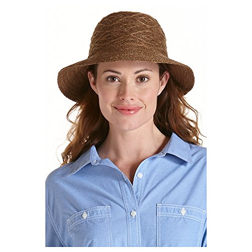 Coolibar UPF 50+ Women s Packable Beach Bucket Hat – Sun Protective ... 3d5cd149bfd5