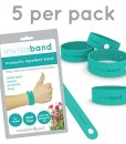 invisaband-5-Pack-All-Natural-Mosquito-Repellent-Bracelets-Guaranteed-to-Work-Fast-Easy-No-Deet-Mess-Spray-or-Plastic-30-Day-Money-Back-Guarantee-0-0