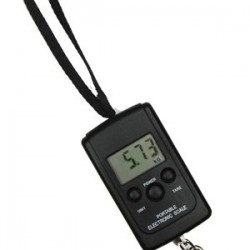 85 lb Digital Travel and Luggage Hanging Scale Fishing