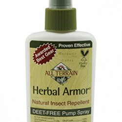 All Terrain DEET-Free Herbal Armor Natural Insect Repellent