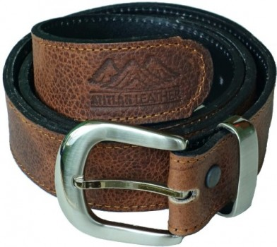 Atitlan-Leather-Mens-Leather-Money-Belt-with-Interchangeable-Buckle-0