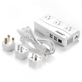 BESTEK-Portable-6A-Max-Travel-Adapter-Power-Converter-Voltage-220V-to-110V-with-Interchangeable-UKUSAUEU-Plugs-0