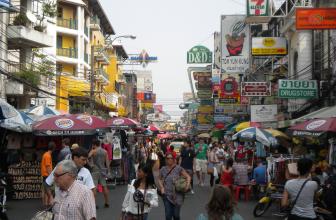 Bangkok – Khaosan Road (Thannon Khaosan)
