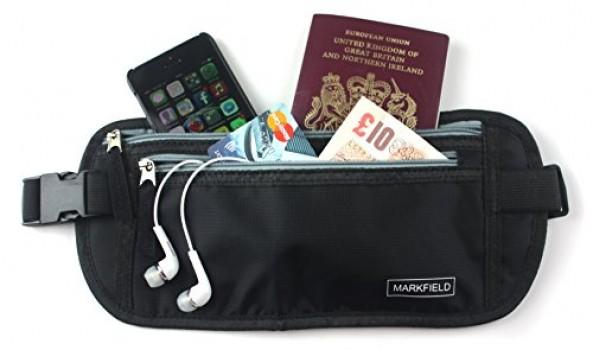 Best-Money-Belt-for-Travel-Hidden-Black-Waist-Pack-Passport-Holder-Travel-Wallet-0