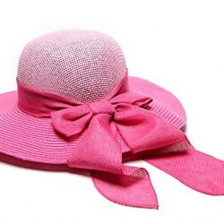 Bow ribbon Straw Paper one size Wedding Church Party Summer Beach Sun Hats