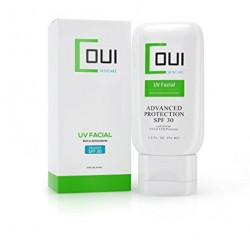 COUI UV Facial Face Sunscreen SPF 30 Mineral Zinc Oxide Moisturizer Lotion