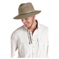 Coolibar UPF 50+ Men's Crushable Ventilated Hat – Sun Protective