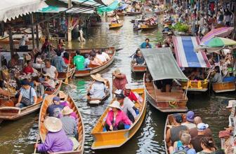 Floating Markets (Damnoen Saduak, Tha Kha, Amphawa)