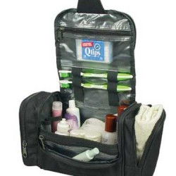 Deluxe Travel Kit Organizer w/ Hanging Hook