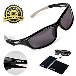 Duduma Polarized Sports Sunglasses for men women Baseball Running Cycling Fishing Golf Tr90 Durable Frame