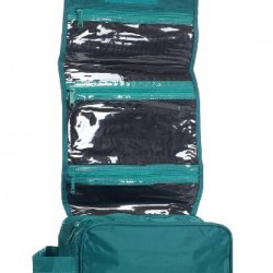 Hanging Toiletry Cosmetics Travel Bag, Teal by BAGS FOR LESS