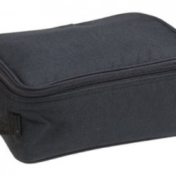 Household Essentials Grooming Toiletry Travel Bag Organizer for Men and Women, Black