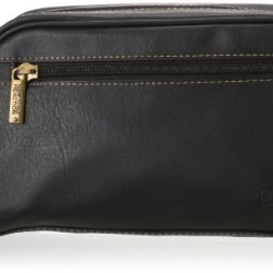 Kenneth Cole Reaction Men's Top Zip Single Compartment Travel Kit