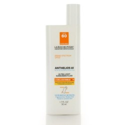 La Roche-Posay Anthelios Ultra Light Sunscreen Fluid SPF 60, 1.7 Fl. Oz.