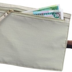 Lewis N. Clark RFID-Blocking Hidden Travel Belt Wallet