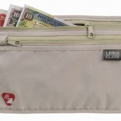 Lewis N. Clark RFID-Blocking Waist Stash Anti-Theft Hidden Money Belt