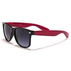 Mirozi Unisex Retro Wayfarer Style Colored 53mm Sunglasses