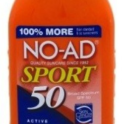 NO-AD Sport Sunscreen Lotion SPF 50 — 16 fl oz