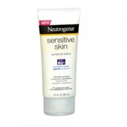 Neutrogena Sensitive Skin Sunscreen Lotion, SPF 60, 3 Ounces