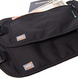Nicholas Hill Money Belts for Travel with RFID Protection (2 Pack)