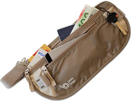 Passport-Holder-Money-Belt-With-RFID-BLOCKING-Material-Use-As-Visible-Travel-Pouch-or-Undercover-Passport-Wallet-for-Woman-or-Man-Protect-Your-Money-CREDIT-Cards-Documents-With-This-Luggage-Travel-Acc-0