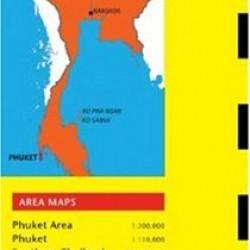 Phuket Travel Map Third Edition (Thailand Regional Maps)