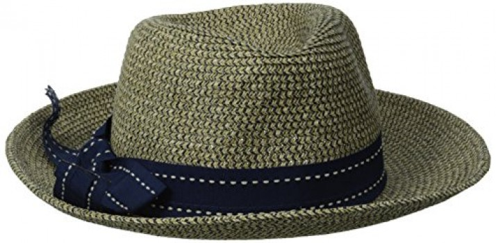 Physician-Endorsed-Womens-Rich-Pitch-Fedora-Packable-Sun-Hat-with-Ribbon-Rated-0