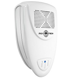 Rid-Tech Ultrasonic Pest Repeller – Repells Rodents and Insects