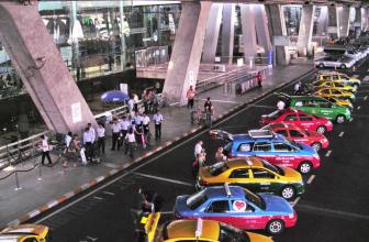 Bangkok Airport to Hotel via Taxi