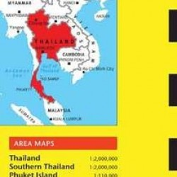 Thailand Travel Map Seventh Edition (Periplus Travel Maps)