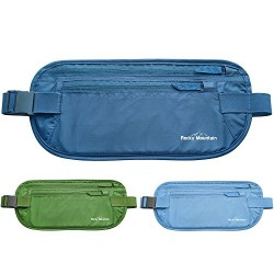 The Ultimate Travel Money Belt, Secure Waist Pouch, Undercover Fanny Pack, Passport Holder, Hidden Wallet – Rocky Mountain Deluxe. Protect your valuables in style! 365 Days 100% Satisfaction Guarantee.