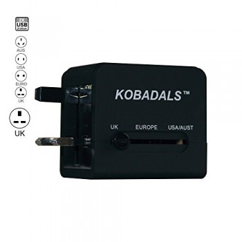 Travel-Adapter-Compact-International-All-In-One-Design-Universal-World-AC-Power-Plug-Adapter-by-Kobadals-Powers-and-charges-Smart-Phones-iPads-iPods-Tablets-MP3-Players-and-other-USB-charged-devices-i-0