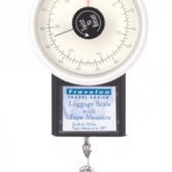 Travelon Stop And Lock Luggage Scale 4″ H X 3″ W X 1.5″ D