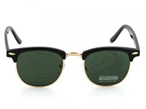 Wayfarer-Sunglasses-Classic-80s-Vintage-Style-Design-12-Frame-BlackGold-My-Shades-Pouch-0