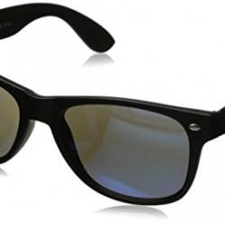 Retro Style Sunglasses Classic 80's Vintage Design (Matte Black (Non Glossy F.