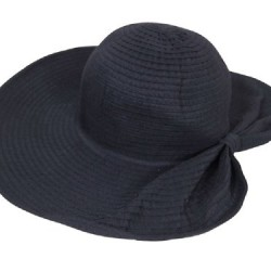 Women's Packable Sun Hat, 5 in Wide Brim, Pony Tail Back, Spf 50+ Protection